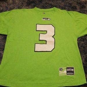 Russell Wilson Seattle Seahawks tshirt